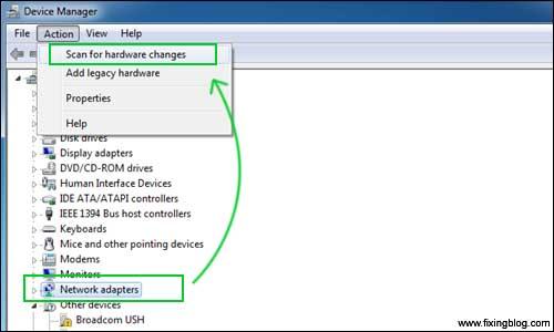 حل مشکل اتصال وایرلس لپ تاپ Acer