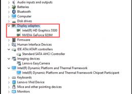 روش نصب هردو کارت گرافیک لپ تاپ لنوو