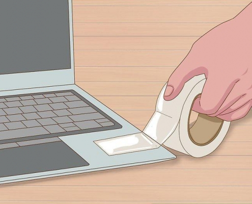 از بین بردن پسماندهای سرسخت با نوار چسب