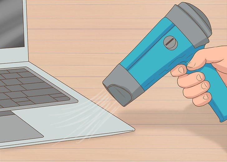 پاکسازی برچسب از روی لپ تاپ