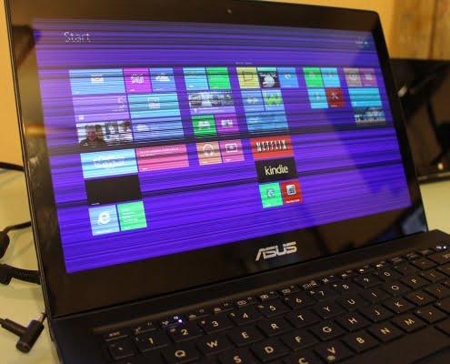 مشکلات صفحه نمایش لپ تاپ ASUS