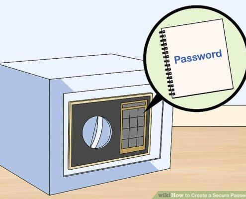 ایجاد رمز عبور امن