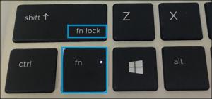 فعالسازی حالت کلید fn در لپ تاپ های قدیمی